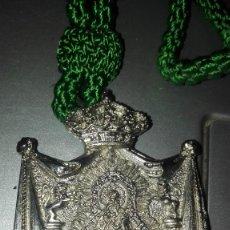 Antigüedades: MEDALLON VIRGEN DE GUADALUPE UBEDA. Lote 126372283