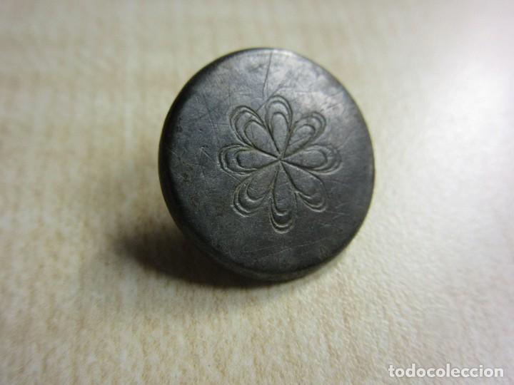 Antigüedades: Botón tipo Tombac S XVIII - Foto 2 - 126417735