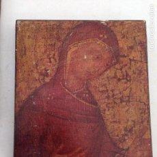 Antigüedades: CUADRO MADERA VIRGEN. Lote 126419975