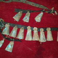 Antigüedades - Gran Lote de campanas campanillas de ganaderia - 111284218