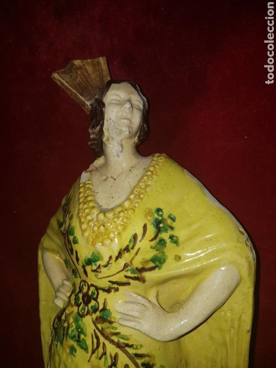 Antigüedades: Antigua ceramica de Sevillana Fabrica Santa Ana Triana - Foto 2 - 113413327