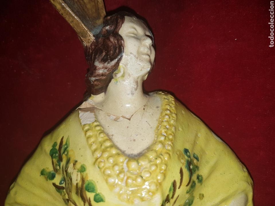 Antigüedades: Antigua ceramica de Sevillana Fabrica Santa Ana Triana - Foto 7 - 113413327