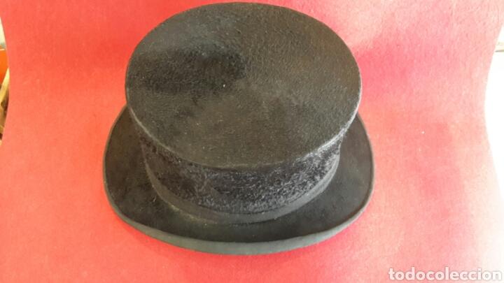 Antigüedades: Sombrero de copa - chistera 1950s Tusell Camprodón. - Foto 2 - 126435180