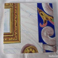 Antigüedades: AZULEJO PICKMAN LA CARTUJA 3. Lote 126442239