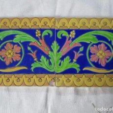Antigüedades: AZULEJO PICKMAN LA CARTUJA 6. Lote 126442907