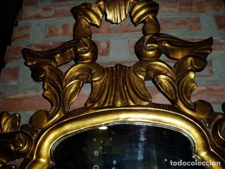 Antigüedades: CORNUCOPIA ANTIGUA CON PAN DE ORO - Foto 3 - 126446375