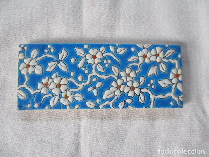 AZULEJO PICKMAN LA CARTUJA 17 (Antigüedades - Porcelanas y Cerámicas - Azulejos)