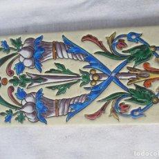 Antigüedades: AZULEJO PICKMAN LA CARTUJA 18. Lote 126448663