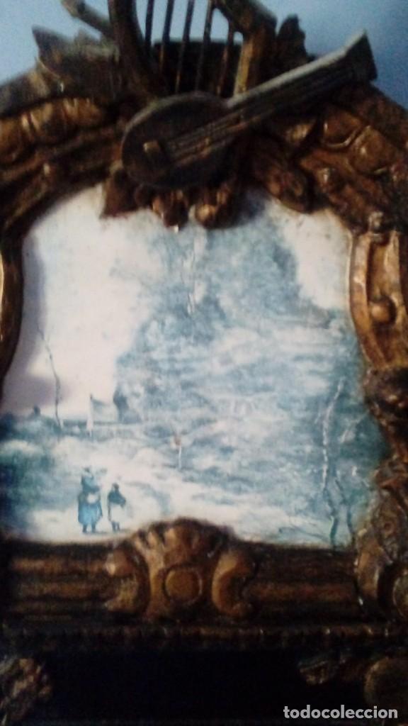 Antigüedades: CORNOCOPIA ANTIGUA DE MADERA HECHA A MANO MIDE 110 CMS X 40 CMS - Foto 2 - 126478251