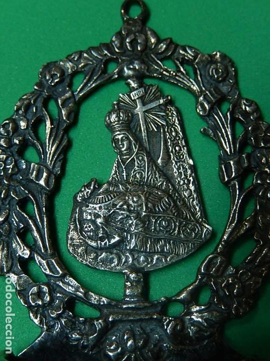 Antigüedades: Pequeña benditera de plata. Principios del siglo XX. - Foto 4 - 126512243
