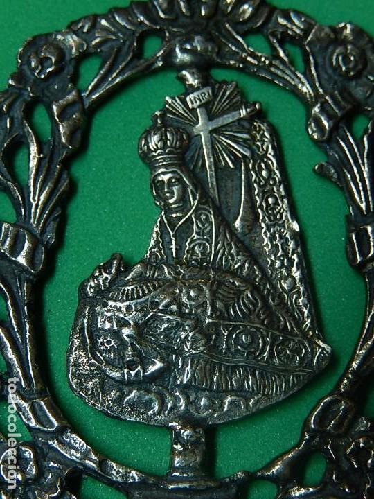 Antigüedades: Pequeña benditera de plata. Principios del siglo XX. - Foto 5 - 126512243