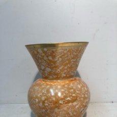 Antigüedades: PRECIOSO JARRON O FLORERO DE OPALINA ANTIGUO.. Lote 126556031