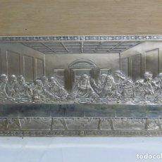Antiquitäten - cuadro de la ultima cena,laminado en plata (925) con contrastes ver ultima foto - 126556171
