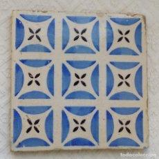 Antigüedades: AZULEJO ANTIGUO, BALDOSA. Lote 126633059