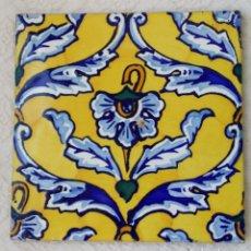 Antigüedades: ANTIGUO AZULEJO DE ONDA - VALENCIA. Lote 126636331