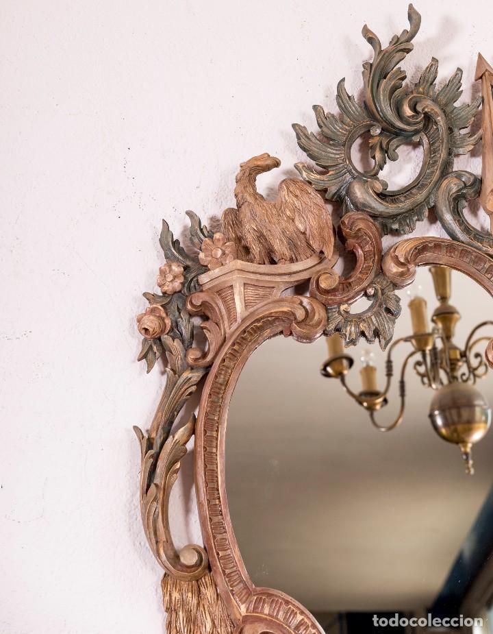 Antigüedades: Espejo Antiguo Restaurado Cloe - Foto 7 - 126643811