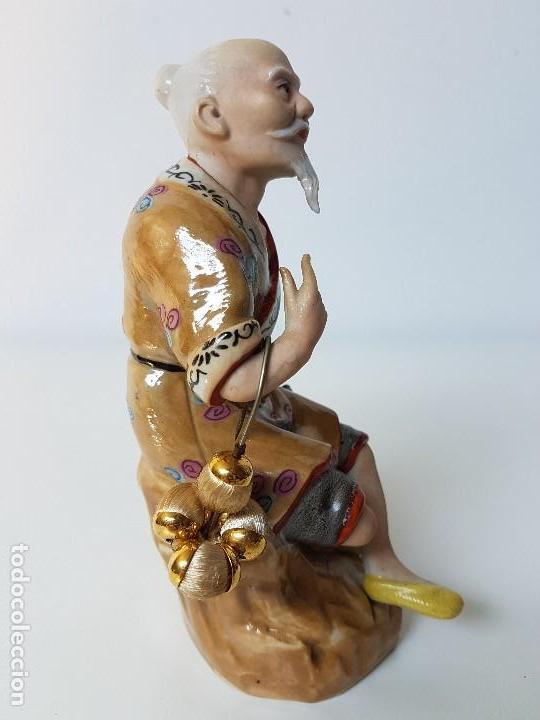 Antigüedades: PRECIOSA FIGURA CHINA - Foto 2 - 126647675