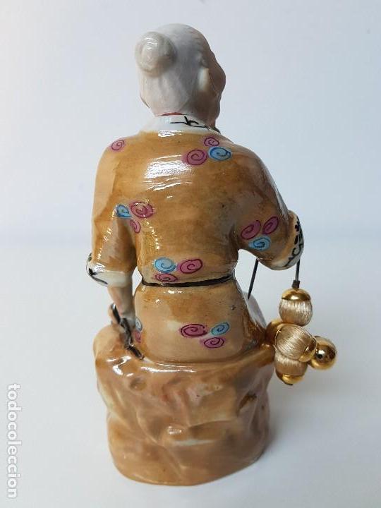 Antigüedades: PRECIOSA FIGURA CHINA - Foto 3 - 126647675