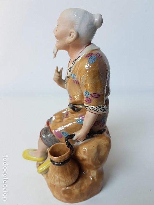 Antigüedades: PRECIOSA FIGURA CHINA - Foto 4 - 126647675