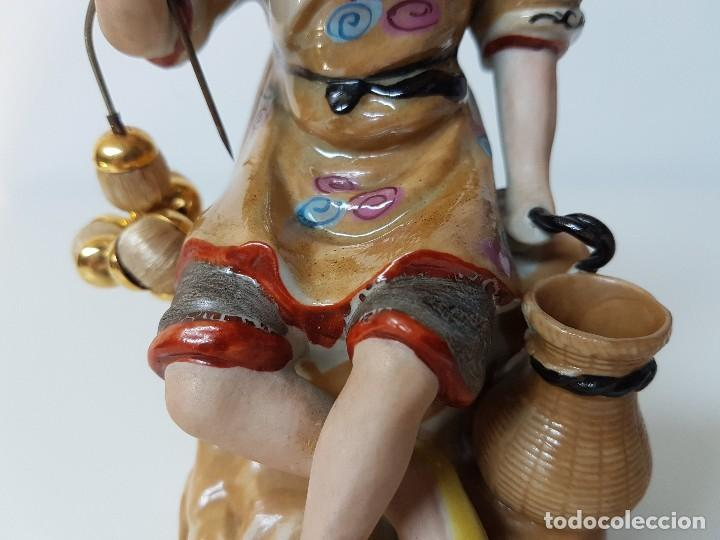 Antigüedades: PRECIOSA FIGURA CHINA - Foto 7 - 126647675