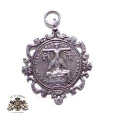 Antigüedades: MEDALLA RELIGIOSA. SIGLO XVII.- NUESTRA SEÑORA DE LAS ANGUSTIAS (GRANADA). JESÚS DE NAZARE. Lote 126677371