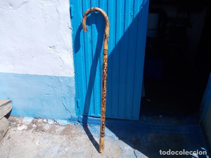 BASTON GRANDE DE DECORACION (Antigüedades - Moda - Bastones Antiguos)