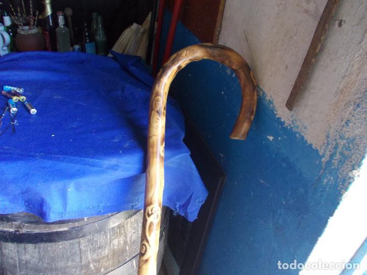 Antigüedades: baston grande de decoracion - Foto 5 - 126708511