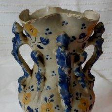 Antigüedades: JARRÓN MUY ANTIGUO DE CERÁMICA. Lote 126734443