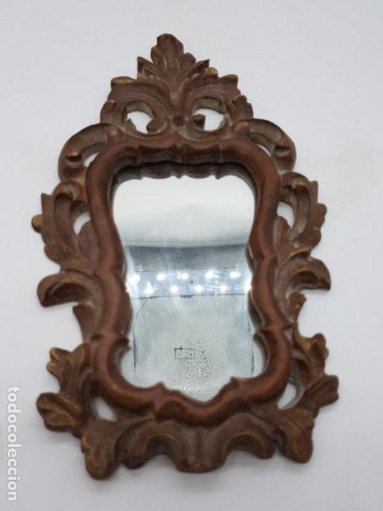 EXCELENTE CORNUCOPIA DE ESTILO BARROCO 24 CM DE ALTO X 15 CM DE LARGO (Antigüedades - Muebles Antiguos - Cornucopias Antiguas)