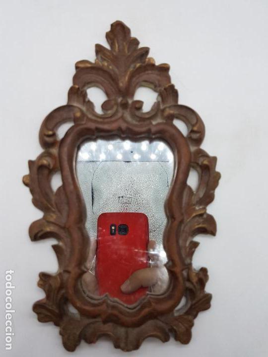 Antigüedades: Excelente cornucopia de estilo barroco 24 CM DE ALTO X 15 CM DE LARGO - Foto 2 - 126773299