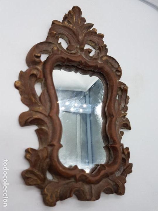 Antigüedades: Excelente cornucopia de estilo barroco 24 CM DE ALTO X 15 CM DE LARGO - Foto 3 - 126773299