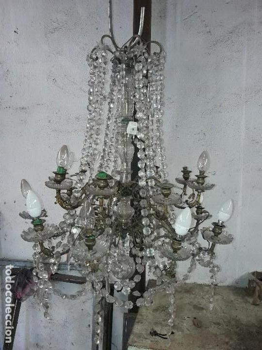 LÁMPARA ISABELINA (Antigüedades - Iluminación - Lámparas Antiguas)