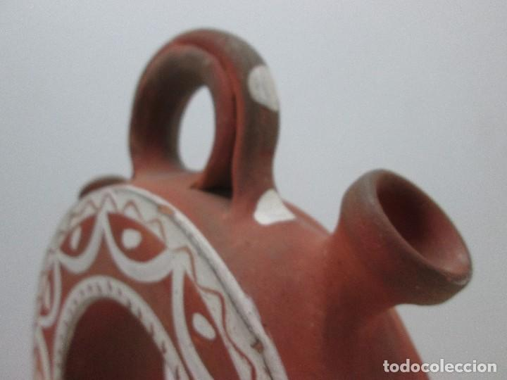 Antigüedades: BOTIJO CÁNTIR - INDALECIO BONXE - LUGO - TORTELL ROSCO - 32 X 20 X 6,5 CM - Foto 5 - 126803443