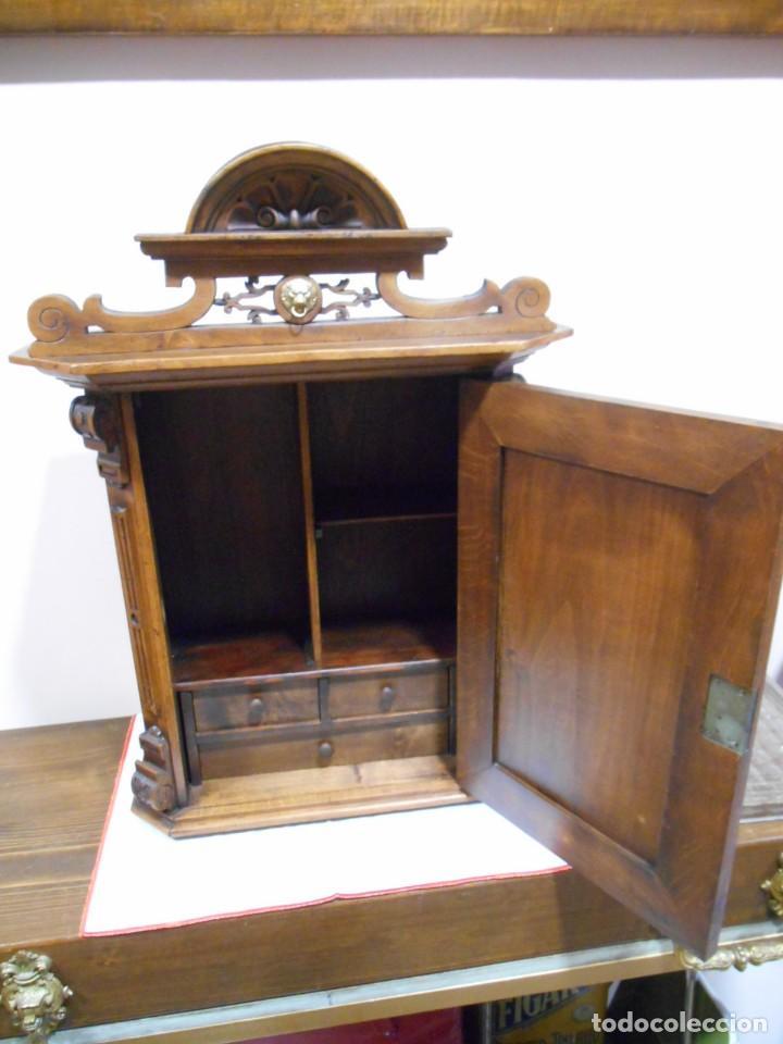 Antiguo mueble de nogal estilo carlos iv mueb comprar - Muebles estilo antiguo ...