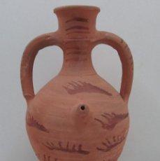 Antigüedades: BOTIJO CÁNTIR - TRAIGUERA - CASTELLÓN - 30 X 17 X 17 CM . Lote 126813791