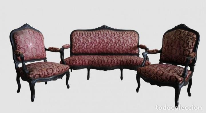 ESTRADO ALFONSINO (Antigüedades - Muebles Antiguos - Sofás Antiguos)