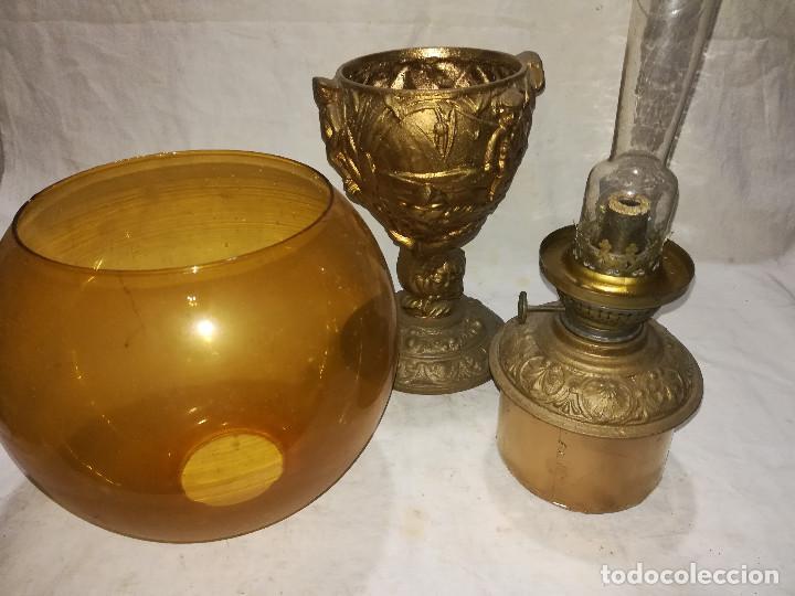 Antigüedades: QUINQUE ANTIGUO Y ORIGINAL. KOSMOS BRENNER - Foto 5 - 126840911