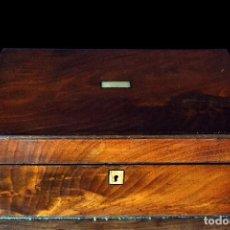 Antigüedades: CAJA ESCRITORIO. Lote 126864747