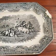 Antiquités: FUENTE O BANDEJA CARTAGENA LA AMISTAD VER FOTOS. Lote 129215555