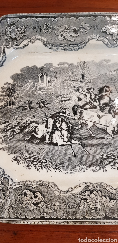 Antigüedades: FUENTE O BANDEJA CARTAGENA LA AMISTAD VER FOTOS - Foto 4 - 129215555
