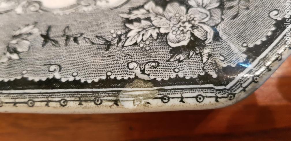 Antigüedades: FUENTE O BANDEJA CARTAGENA LA AMISTAD VER FOTOS - Foto 9 - 129215555