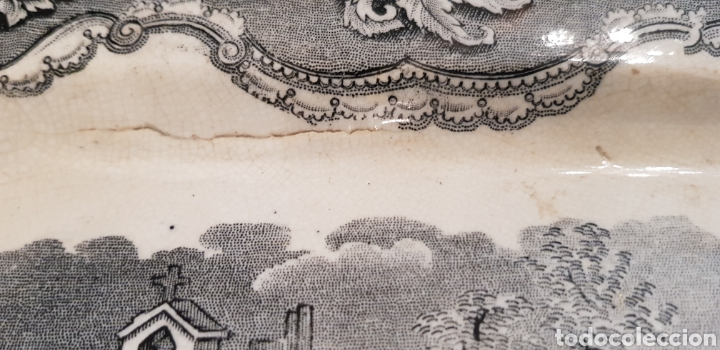 Antigüedades: FUENTE O BANDEJA CARTAGENA LA AMISTAD VER FOTOS - Foto 10 - 129215555