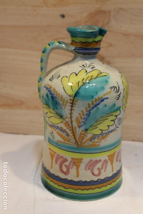Antigüedades: botella de Puente del Arzobispo, inscripción V - Foto 3 - 126908883