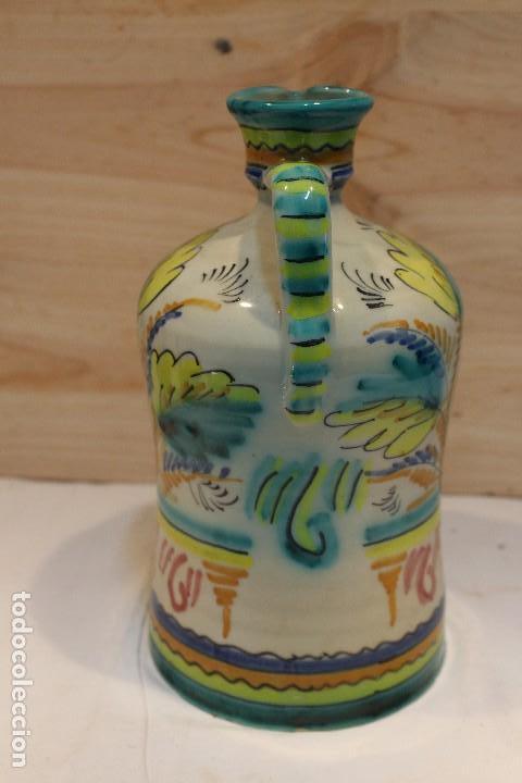 Antigüedades: botella de Puente del Arzobispo, inscripción V - Foto 4 - 126908883