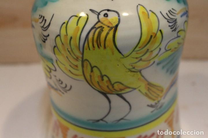 Antigüedades: botella de Puente del Arzobispo, inscripción V - Foto 7 - 126908883