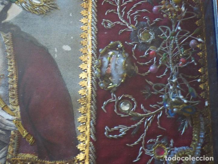 Antigüedades: RELICARIO ELABORADO CON VARIADAS RELIQUIAS. S. XVIII - Foto 4 - 126912539