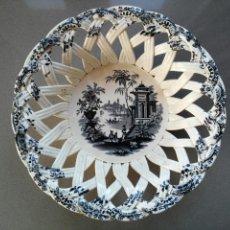 Antigüedades: FRUTERO CALADO PICKMAN / CARTUJA 1840. Lote 126921787