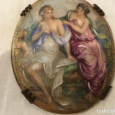 Antigüedades: PLACA DE LIMOGES. Lote 126947823