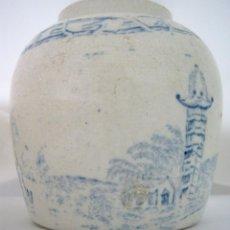 Antigüedades: ANTIGÜEDADES CHINAS . BOTE TARRO DE GENGIBRE . MING STONEWARE GINGER JAR POT. Lote 126955103