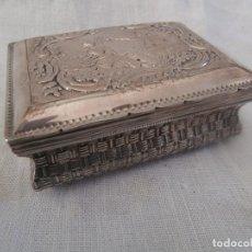 Antigüedades: CAJA EN PLATA DE LEY RUSA PREREVOLUCION COMUNISTA,EPOCA ZARISTA SIGLO XIX. Lote 126988051